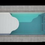 """""""GARDA 950"""" baseinas su uždengimu"""