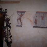 dekoratyvinis dažymas su antikiniais elementais
