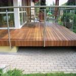 Įrengta terasa
