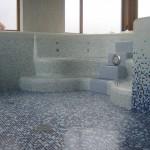 Tuščias betoninis baseinas